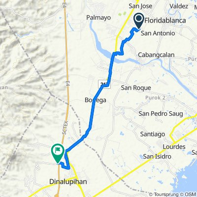 Ilang-Ilang 41, Floridablanca to Philippines, Dinalupihan