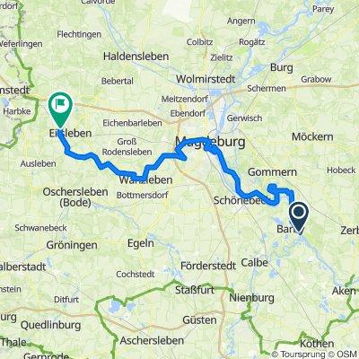 Saale 11a: Walternienburg - Ummendorf, zur Alten Post, 88,4km, 215hm
