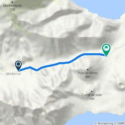 De Estrada Mindelo-Calhau, Madeiral a Estrada Mindelo-Calhau
