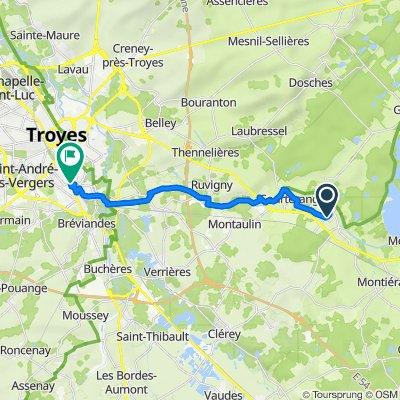 De 14 Impasse du Docteur Meyer, Lusigny-sur-Barse à 116 Boulevard de Dijon, Saint-Julien-les-Villas