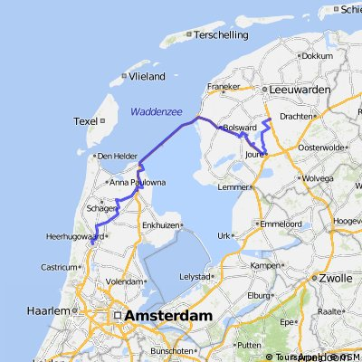 Alkmaar to Grou