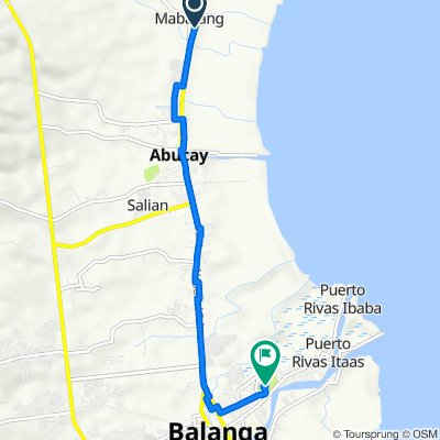National Road 067, Abucay to Unnamed Road, City of Balanga