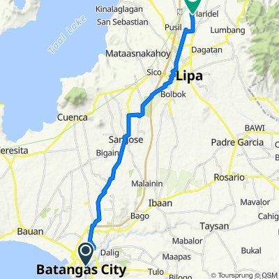 Batangas-Lipa Easy ride