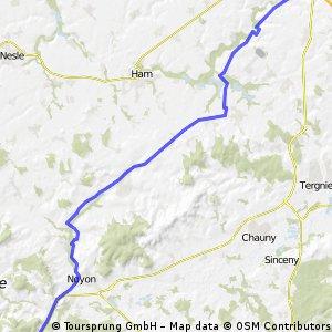 6/ - Gauchy - Janville przed Compiegne