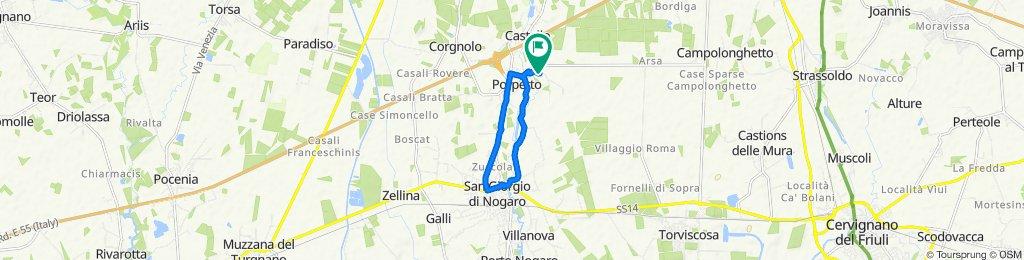 Via Bando 14, Porpetto nach Via Bando 14, Porpetto