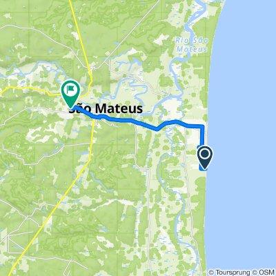 De Rua Campo Grande 1263 a Rua Mato Grosso 87