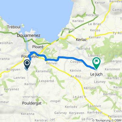 De 8 Route de Kerdéo, Pouldergat à 4–4T Rue de la Laiterie, Le Juch