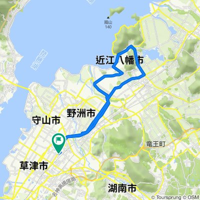 20200106守山ー近江八幡