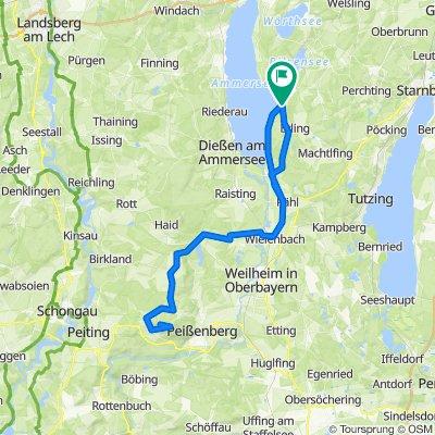 RC07-Herrsching - Forster Berg - Hohenpeißenberg-76km-830hm
