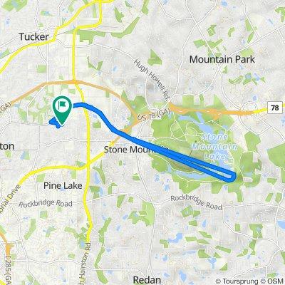 1354 Cedar Park Pl, Stone Mountain to 1354 Cedar Park Pl, Stone Mountain