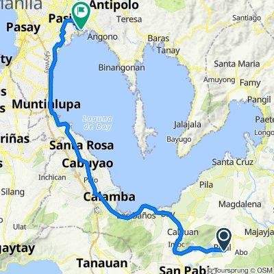 Nagcarlan - Rizal Road 284 to Sampaguita Street 182, Taytay