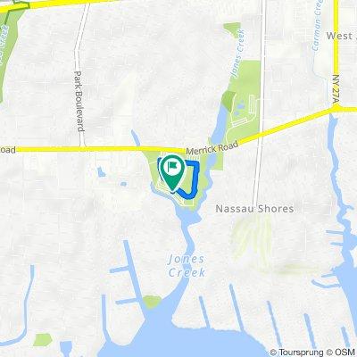 Oyster Bay, Massapequa Park to 4990 Merrick Rd, Massapequa Park