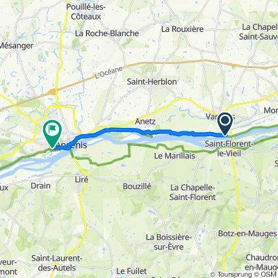 De 3–85A Rue de la Basse Meilleraie, Varades à 64 Le Champ Roncin, Saint-Géréon