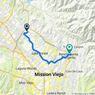 123 Port, Irvine to El Camino Montana, Rancho Santa Margarita