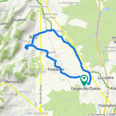 De Chemin Neuf 10, Farges-lès-Chalon à Chemin Neuf 6, Farges-lès-Chalon