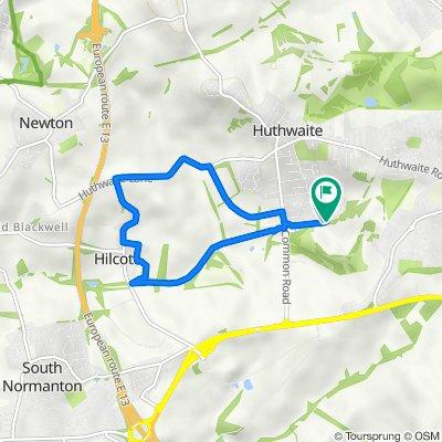 6K run route loop
