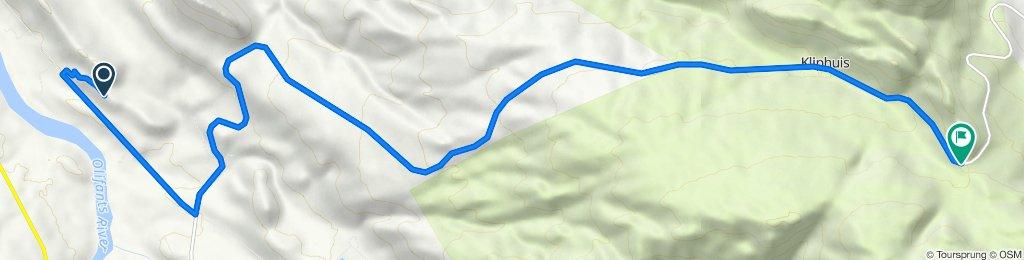 To Heiningsvlei trail