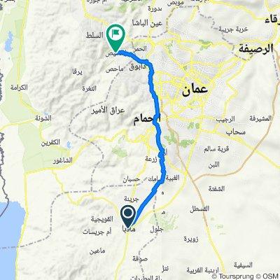9 Madaba - Fuheis 47 km