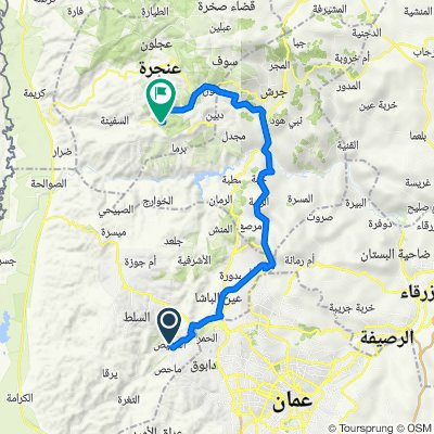 10 Fuheis - Khirbet As Souq 64 km