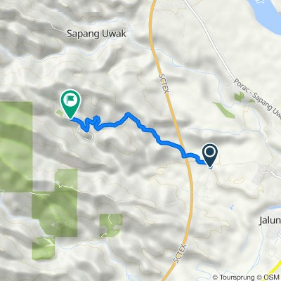 Unnamed Road, Porac to Unnamed Road, Porac
