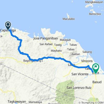 Rizal, Capalonga to Remedios 20, Daet