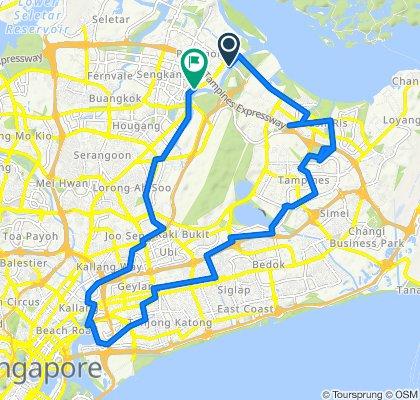 Punggol Promenade Riverside Walk, Punggol to Sengkang East Drive, Singapore