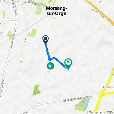 De 31–37 Rue Salvador Allende, Morsang-sur-Orge à 35 Voie de Compiègne, Morsang-sur-Orge