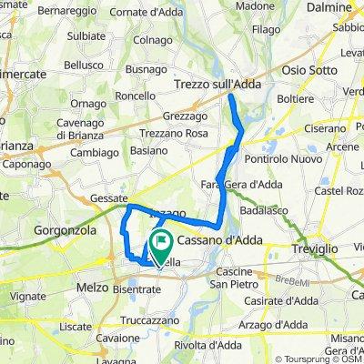 Da Via Sant'Anna 18, Trecella a Via Umberto I 8–10, Trecella