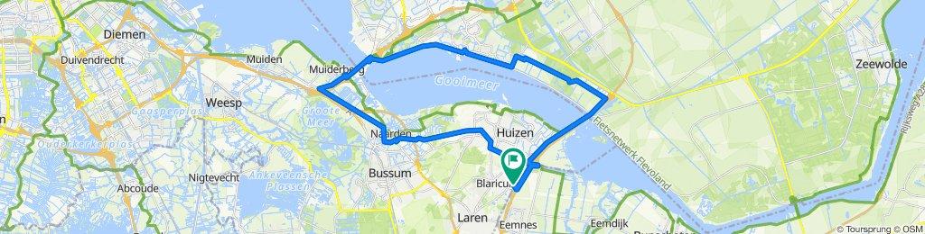 Burriehout 4, Blaricum naar Hengeleer 18, Blaricum