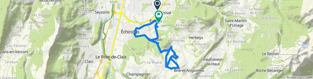 De 10 Rue de Belledonne, Eybens à 19bis Rue Jean Macé, Eybens