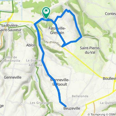 De Route de l'Estuaire 40, Fatouville-Grestain à Côte de Joble 246, Fatouville-Grestain