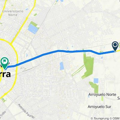 De Ruta Nacional 4, Cotoca a Corumba 2260, Santa Cruz de la Sierra