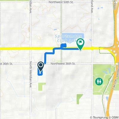 North Geraldine Avenue 3511, Oklahoma City to Willow Springs Drive 3820, Oklahoma City