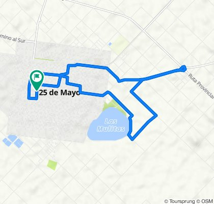 De Calle 27 1493, Veinticinco de Mayo a Calle 27 1493, Veinticinco de Mayo