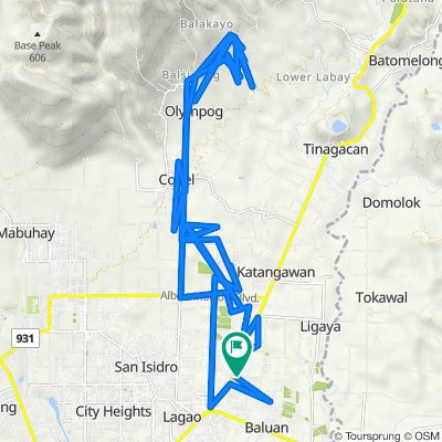 Digos - Makar Road, General Santos City to Unnamed Road, General Santos City