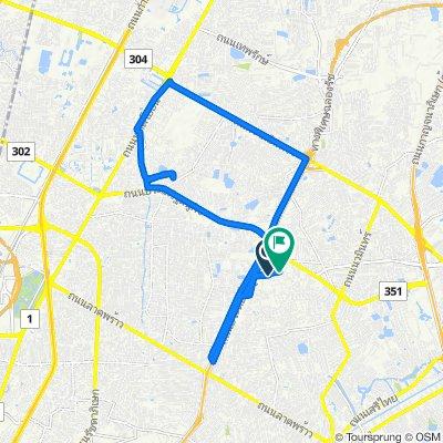 Soi Yothin Phatthana 3, Bangkok to Soi Nawamin 111, Bangkok