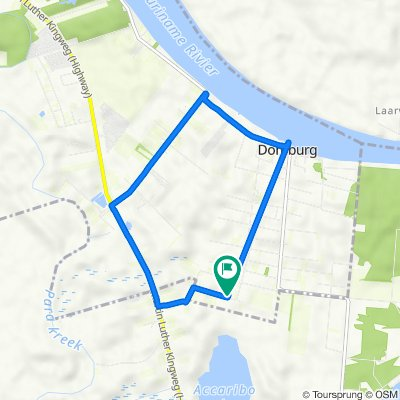 Domburg 13e Zijstraat naar Domburg 13e Zijstraat
