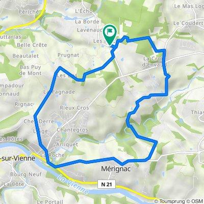 De 2 Allée de l'Orée du Bois, Verneuil-sur-Vienne à 2 Allée de l'Orée du Bois, Verneuil-sur-Vienne