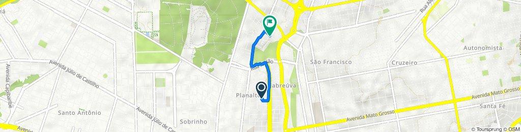 De Rua Moreira Cabral 263 a Rua José Luís de Carvalho 64