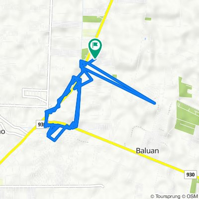 Unnamed Road, General Santos City to Unnamed Road, General Santos City