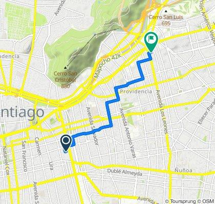 De Argomedo 71, Santiago a San Pío X 2460, Providencia