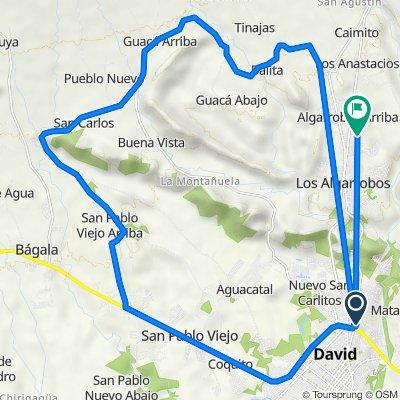De S Norte 110-2, David a Manzana 040708 64-1174, Los Algarrobos