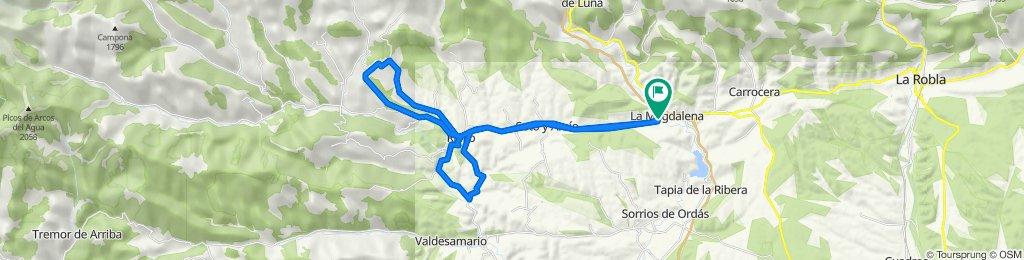 La Magdalena-Trascastro-Robledo-La Magdalena