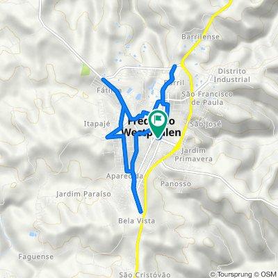 De Rua Arthur Milani, 560–674, Frederico Westphalen a Rua Arthur Milani, 555–669, Frederico Westphalen