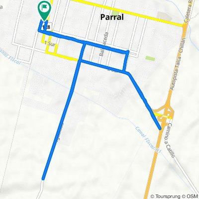 De San Martín 24, Parral a San Martín 30, Parral