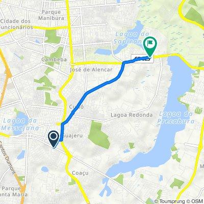 De Rua I, 338–404, Fortaleza a Avenida Maestro Lisboa, 2911, Fortaleza