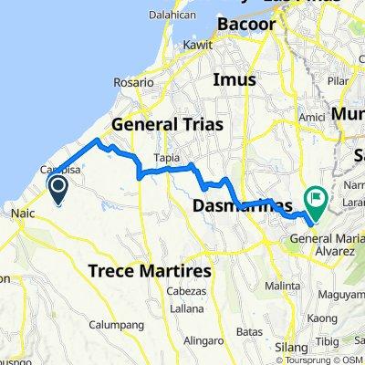 Unnamed Road, Naic to Unnamed Road, Dasmariñas
