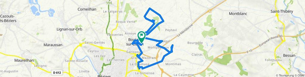 De 6 Rue de l'Ardailhou, Boujan-sur-Libron à 6 Rue de l'Ardailhou, Boujan-sur-Libron