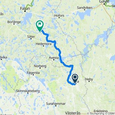 Uppsala-Djura, etapp 2