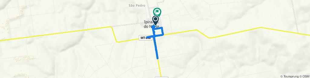 De Rua Ouro Preto, 596–672, Ipiranga do Norte a Rua dos Pequis, 630–842, Ipiranga do Norte